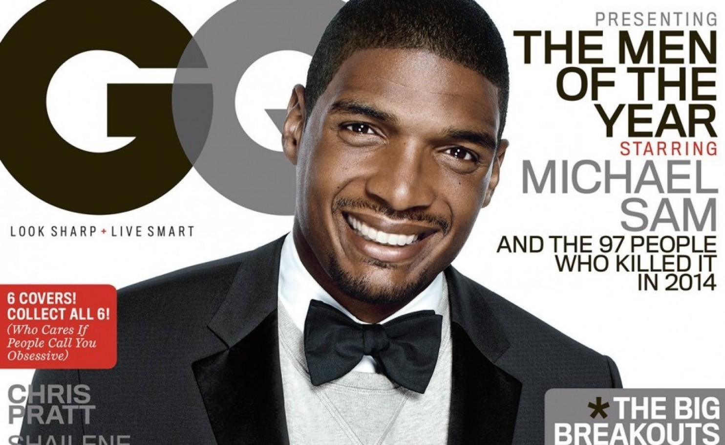Michael Sam GQ Cover
